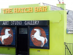 the front of The Hatch Bar studio